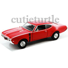 Welly 24024 1968 Oldsmobile 442 1:24 Diecast Model Car Red