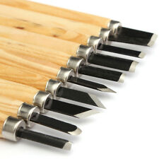 10PCS WOOD CARVING CHISELS SET WOODWORKING  WOODCARVING DIY TOOL HAND TOOLS SET
