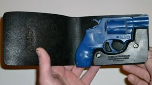 """Pocket Holster, Wallet Style For Full Concealment- S&W J-Frame 2"""" Revolver - KCH"""