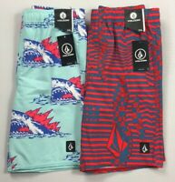 Boy's Little Youth Volcom Swim Trunks Shorts