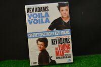 DVD KEV ADAMS VOILA VOILA COFFRET SPECTACLES 2 DVD  NEUF SOUS BLISTER