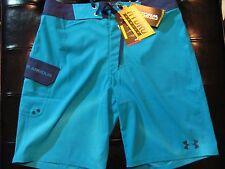 NEW Mens SIZE 30 Sz30 UNDER ARMOUR STORM Swimsuit BOARD SHORTS BLUE Multi $55
