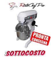 IMPASTATRICE MESCOLATRICE PLANETARIA MIXER PROFESSIONALE CAPACITA' 30 litri