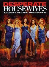 DESPERATE HOUSEWIVES - STAGIONE 4 (5 DVD) COFANETTO UNICO, ITALIANO, NUOVO
