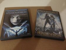 Underworld Evolution & Rise Of The Lycans 2-Disc DVD Lot! FREE USA SHIPPING!