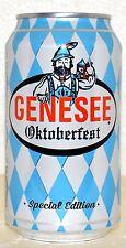 2016 Genesee Oktoberfest 12oz beer can