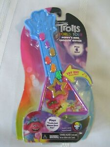 New DreamWorks Trolls World Tour Poppy's Mini Groovin' Guitar