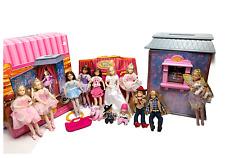 Only Hearts Club Dolls Lot Plus Ballet Studio 12 Dolls Carry Case Acc Clothes