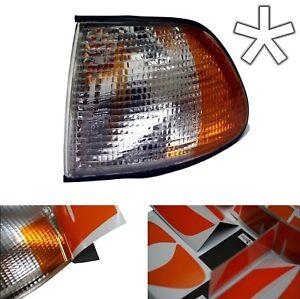 US - Design - Folie transparent Blinker BMW E38 Vorfacelift rechts/links tuning