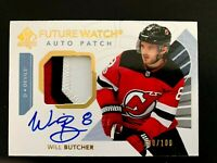 2017-18 SP Authentic Limited Patch Autograph Will Butcher FW/100