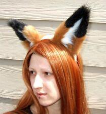 RUST RED FOX or WOLF EARS cosplay COSTUME fur adult KITSUNE adult fursuit anime
