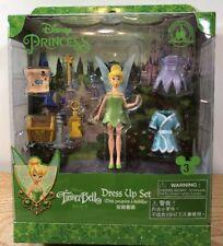 NEW Disney Princess Tinker Bell Magic Clip Magiclip Dress Polly Pocket Doll Set