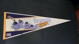 VIKADONTIS REX - Minnesota Vikings Commemorative Pennant