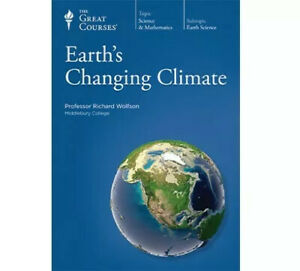 The Great Courses Earth's Changing Climate BRAND NEW CD's & Book
