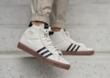 Adidas Originals Mens Basket Profi Shoes Chalk White FX0350 UK 8, 8.5, 9.5