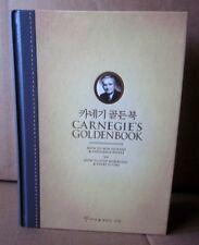 CARNEGIE GOLDEN BOOK Dale Carnegie 2009 Influence People business book Korean