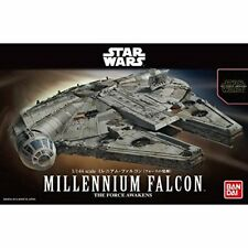 Japan BANDAI Star Wars Plastic Model 1/144 Millennium Falcon The Force Awakens