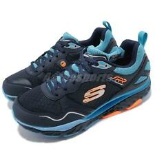 Skechers SRR Pro Resistance-Runway Navy Blue Orange Men Running Shoe 999124-NVLB