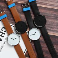 Minimalistic Quartz Genuine Leather Watch Casual Men/Women unisex