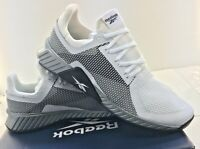 Reebok Mens Shoes Flashfilm Train Style EF4576 White Black Silver Medium