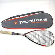 TECNIFIBRE CARBOFLEX 140g Graphite Basaltex Squash Racket With Bag 2012 RARE