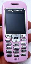 Sony Ericsson J220i-rosa cellulare ottime condizioni (Sbloccato) SIM GRATIS