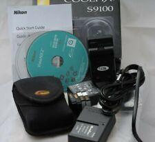 Nikon COOLPIX S9100 12.1MP Black Digital Camera & Accessories