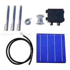108 Pieces 6x6 Solar Cell Cells & DIY Full Kit for Garden Light Backpack Charger