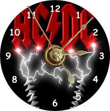 BRAND NEW ROCK BAND AC/DC CD Clock
