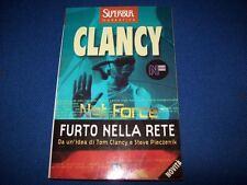 TOM CLANCY-NET FORCE-FURTO NELLA RETE-BUR-2001-SUPERBUR-N. 329-OTTIMO STATO!