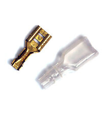 100set Open Barrel Terminal Female Disconnector BL2-250A-0 TAB=6.35x0.8mm CALY