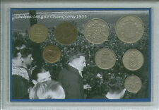 Chelsea FC Football League Champions Nostalgic Vintage Retro Coin Gift Set 1955