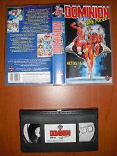Dominion Tank Police Actos I & II (1 y 2) [Anime VHS] Manga Films Ver. Española