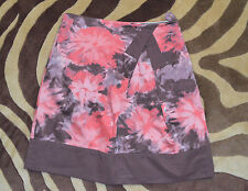 NWT Anthropologie Elevenses Cotton Pink Floral Skirt Sz 2