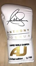 Anthony Joshua Signed Boxing Glove RARE LIMITED EDITION PROOF AFTAL COA (C)