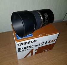 TAMRON SP AF 90MM F2.8 DI Macro Lens For CANON DSLR EF 272EE Boxed Free Post