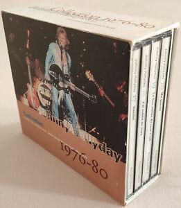 JOHNNY HALLYDAY COFFRET 5 DE LA GUITARE 1976-80 - HAMLET + 3CD + LIVRET 36 PAGES