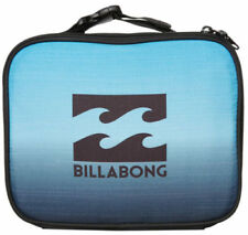 NEW BILLABONG KIRRA BOYS TEENS MENS INSULATED LUNCH BOX BAG CASE COOLER BLUE