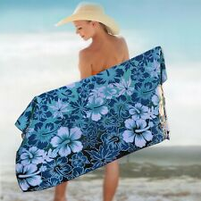 BEACH TOWEL - HIBISCUS 63 x 31