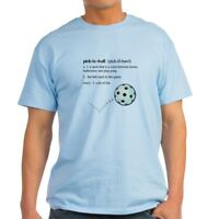 CafePress Pickleball Definition With Ba Light T Shirt Light T-Shirt (186958273)