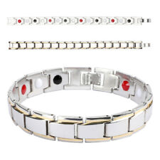 Therapeutic Energy Healing Magnetic Bracelet Therapy Arthritis for Men & Women