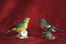 BESWICK CHAFFINCH BIRD  & GREENFINCH