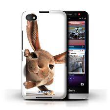 STUFF4 Back Case/Cover/Skin for Blackberry Z30/Funny Animals