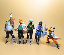 LOT 4 Naruto PVC Figure Hatake Kakashi  Uchiha Sasuke Namikaze Minato Killer B