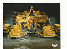 RYAN HUNTER-REAY HAND SIGNED COLOR 2015 INDY CAR 8X10 W/ PSA COA Y60897