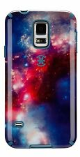 Speck CandyShell Inked for Samsung Galaxy S5 SuperNova Red Pattern/Tahoe Blue