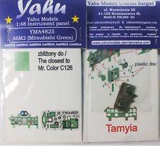 Yahu Models YMA4825 1/48 PE Mitsubishi A6M2 Type 21 Zero instrument panel Tamiya