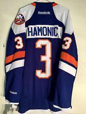 Reebok Premier NHL Jersey New York Islanders Travis Hamonic Blue Alt sz L