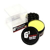 FARECLA G3 SUPERGLOSS PASTE WAX 200G SUPER GLOSS CARNAUBA VALET PAD POLISH KIT