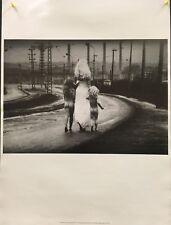 Jan Saudek - Destiny descends to the river -1980's - Offset Litho Poster